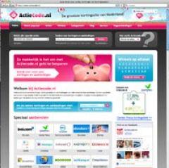 Actiecode.nl De grootste kortingssite van Nederland