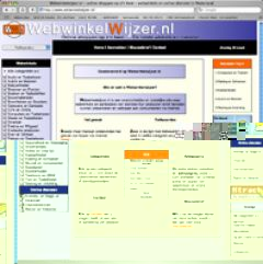Webwinkelwijzer